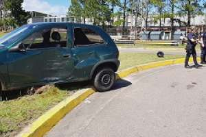 falleció la joven accidentada a la salida del estacionamiento de devoto
