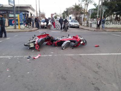Motos protagonistas de accidentes